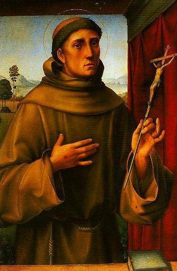 St Francis | Francesco Francia | Oil Painting