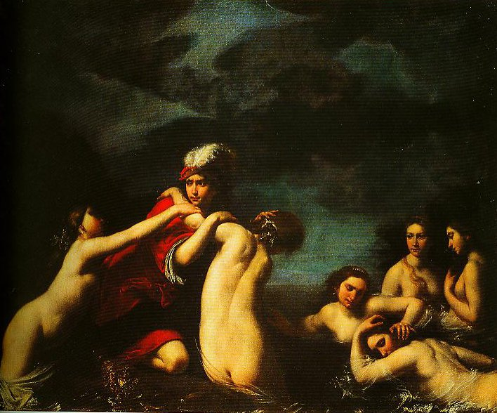 Ila and the Nymphs | Francesco Furini | Oil Painting