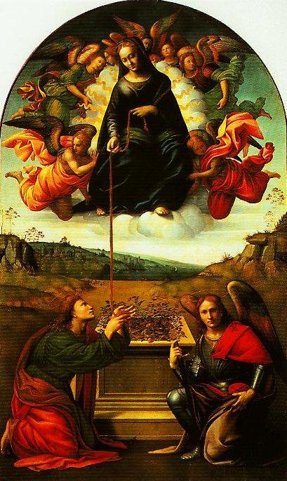 Madonna della Cintola | Francesco Granacci | Oil Painting