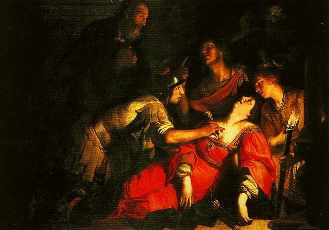 The Death of Lucretia | Francesco Rustici | Oil Painting