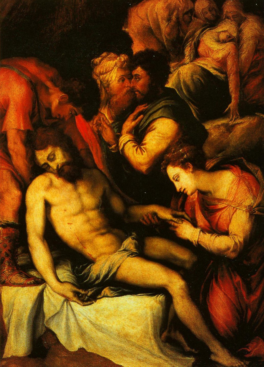 The Deposition | Francesco Salviati | Oil Painting
