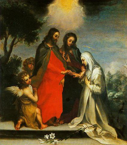 The Mystic Marriage of St Catherine of Siena | Francesco Vanni | Oil Painting