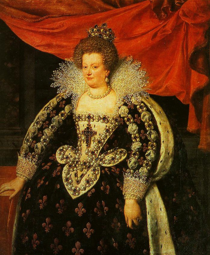 Marie de Medicis Queen of France | Frans Pourbus The Younger | Oil Painting