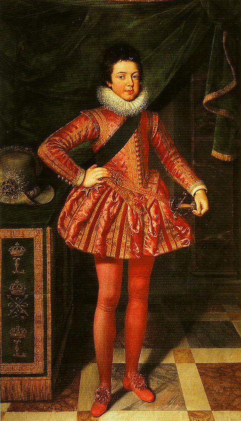Portrait of Louis XIII of France at Ten Years of Age | Frans Pourbus The Younger | Oil Painting