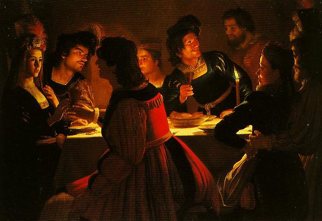 The Wedding Supper | Gerrit Van Honthorst | Oil Painting