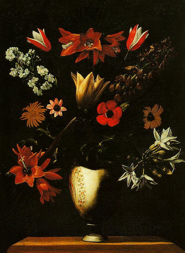 Vase with Crown Imperial Tulips and Anemones | Giacomo Recco | Oil Painting