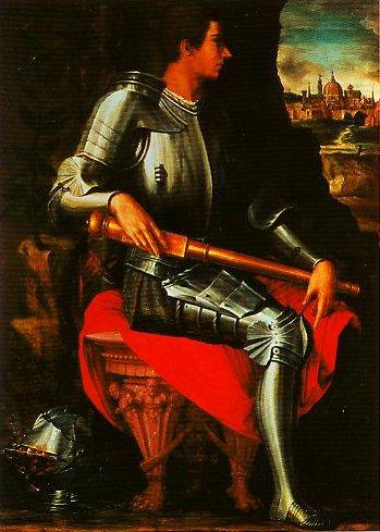 Portrait of Alessandro de Medici | Giorgio Vasari | Oil Painting