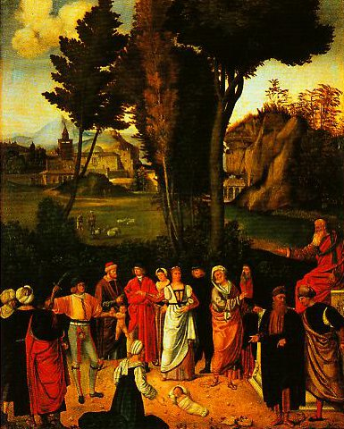 The Judgement of Solomon | Giorgione | Oil Painting
