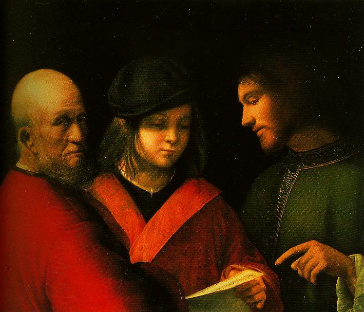 The Singing Lesson | Giorgione | Oil Painting