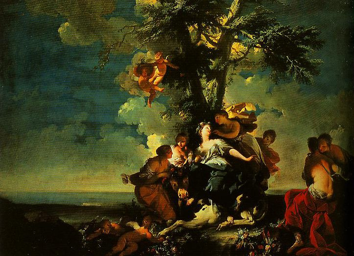 The Rape of Europe   Giovan Domenico Ferretti   Oil Painting
