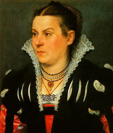 Portrait of a Noblewoman | Giovanni Battista Moroni | Oil Painting