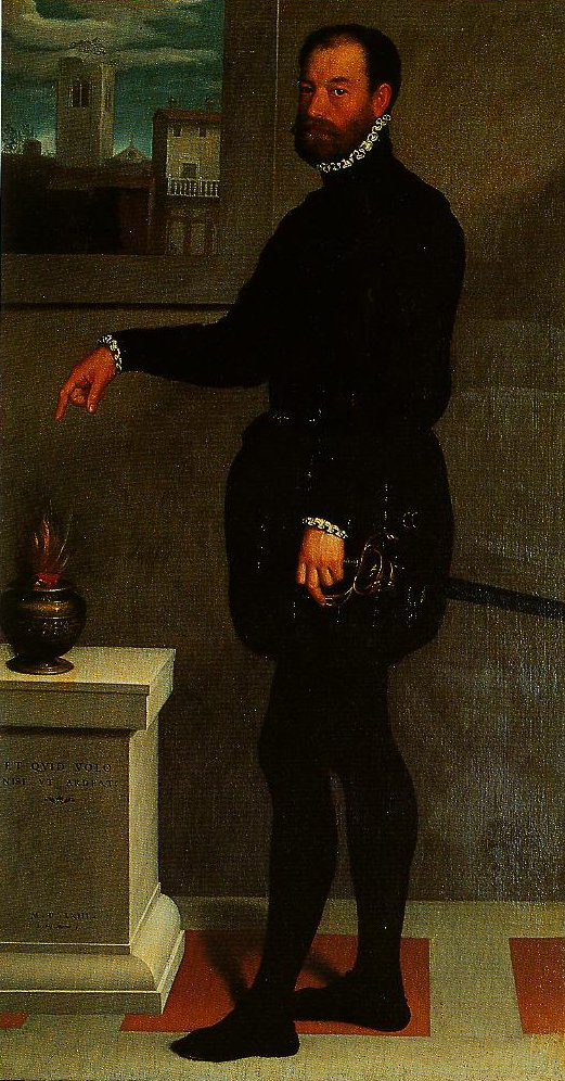 Portrait of Pietro Secco Suardao | Giovanni Battista Moroni | Oil Painting