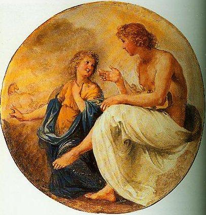 Phaeton and Apollo | Giovanni Da Cupids Hair | Oil Painting