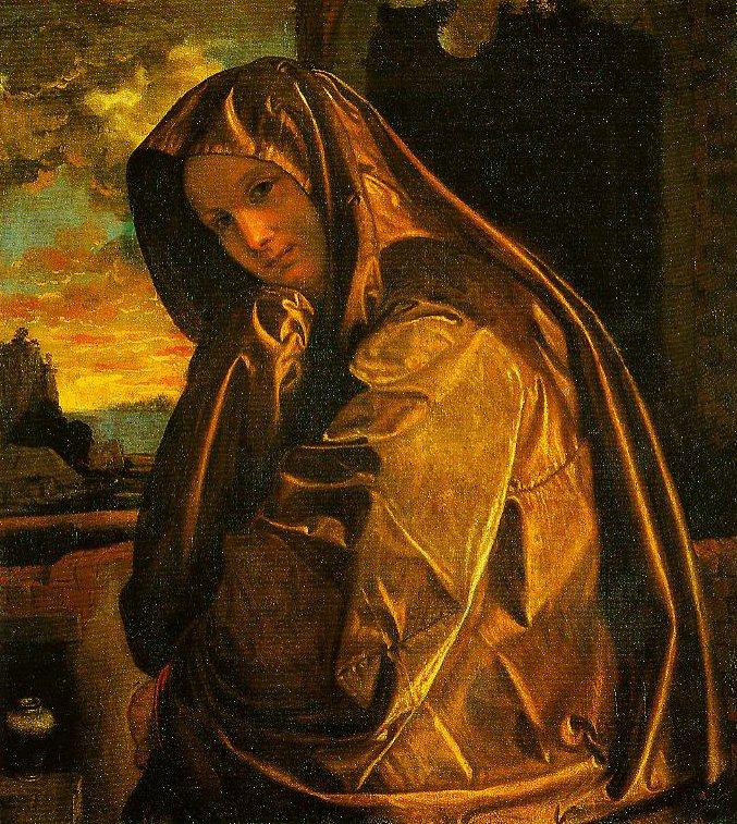 Mary Magdalen | Giovanni Gerolamo Savoldo | Oil Painting