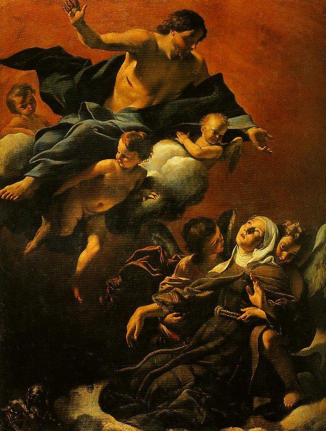 The Estasy of St Margaret of Cortona   Giovannilanfranco   Oil Painting