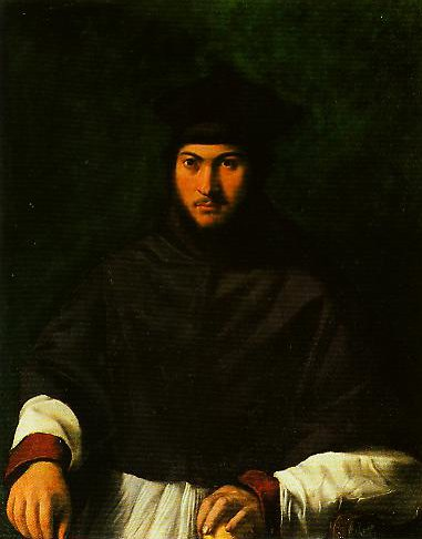 Portrait of Archbishop Bartolini Salimbeni | Girolamo Da Carpi | Oil Painting