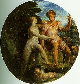 Venus and Adonis | Girolamo Macchietti | Oil Painting
