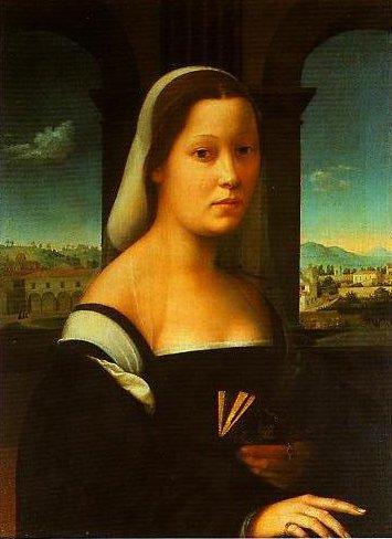 Portrait of a Woman (The Nun) | Giuliano Bugiardini | Oil Painting