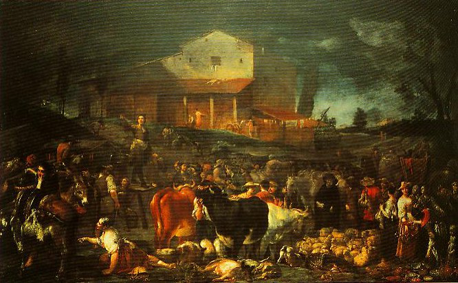 The Fair at Poggio a Caiano | Giuseppe Maria Crespi | Oil Painting