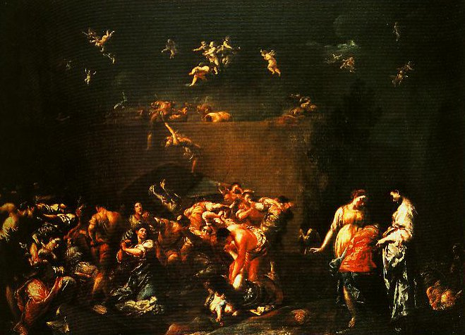 The Massacre of the Innocents | Giuseppe Maria Crespi | Oil Painting