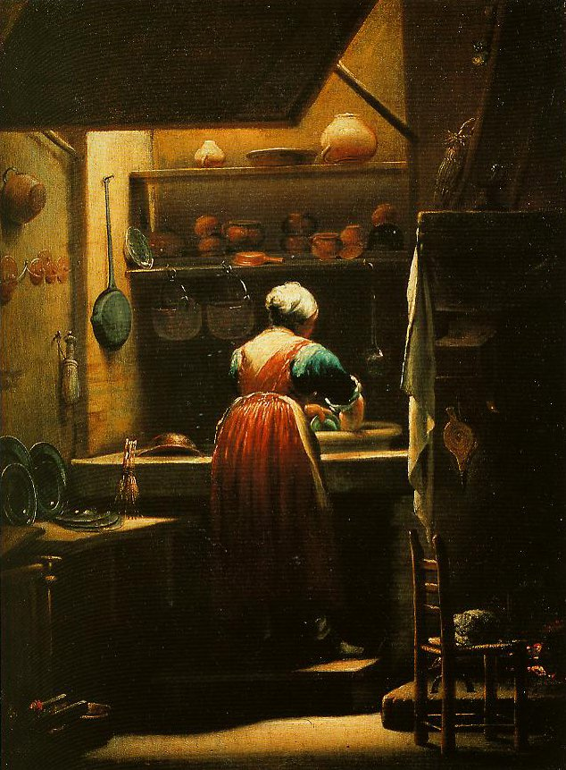 The Scullery Maid | Giuseppe Maria Crespi | Oil Painting