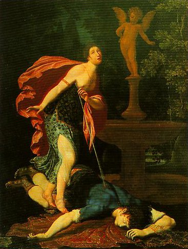 Pyramus and Thisbe | Gregorio Pagani | Oil Painting