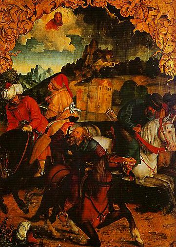 The Calling of St Peter and The Arrest of St Paul2 | Hans Suess Von Kulmbach | Oil Painting