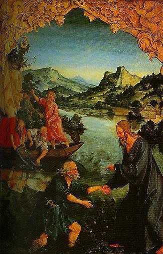 The Calling of St Peter and The Arrest of St Paul | Hans Suess Von Kulmbach | Oil Painting