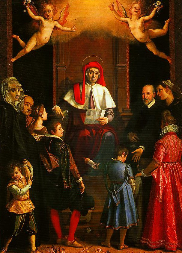 St Ivo Protector of Widows and Orphans | Jacopo Da Empoli | Oil Painting