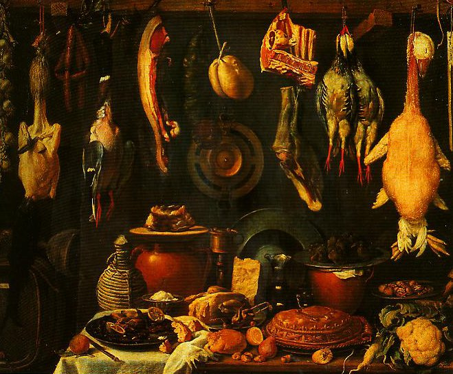 Still Life with Game | Jacopo Da Empoli | Oil Painting