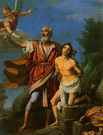 The Sacrifice of Isaac | Jacopo Da Empoli | Oil Painting