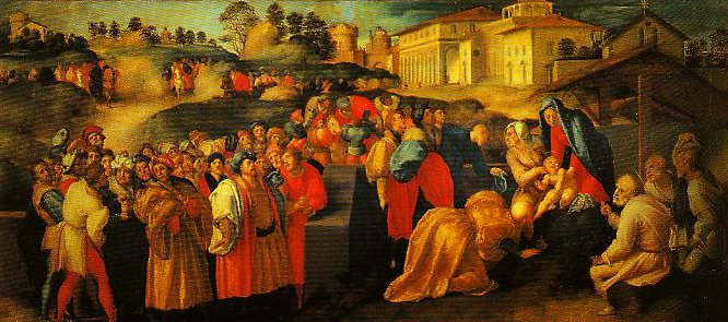 The Adoration of the Magi | Pontormo | Oil Painting