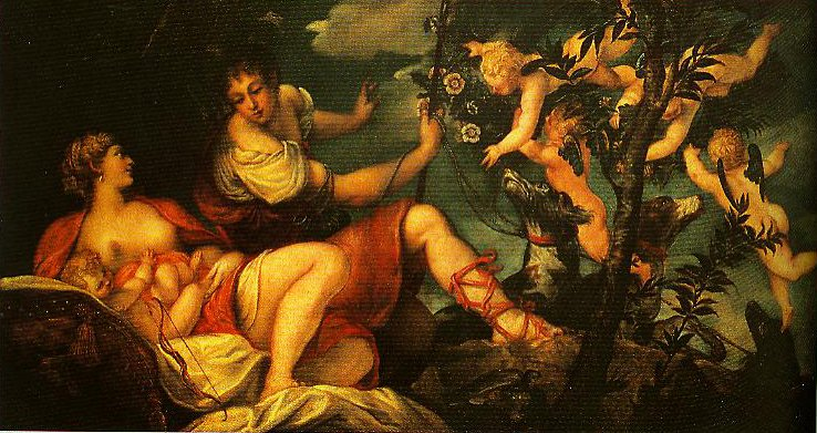 Diana and Endymion | Jacopo Tintoretto | Oil Painting