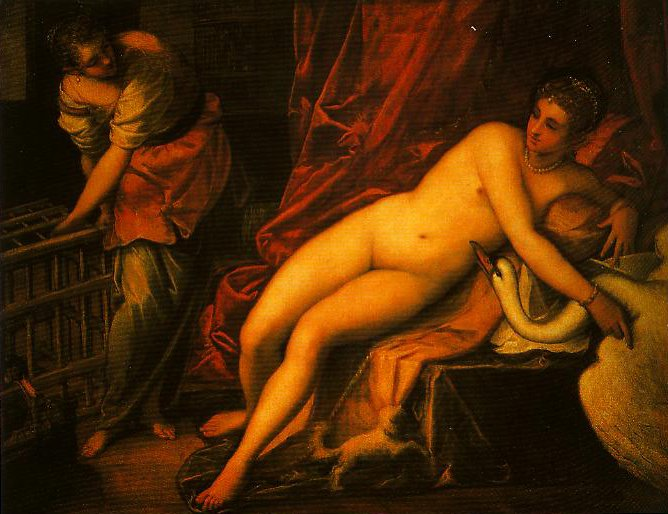 Leda and the Swan2 | Jacopo Tintoretto | Oil Painting