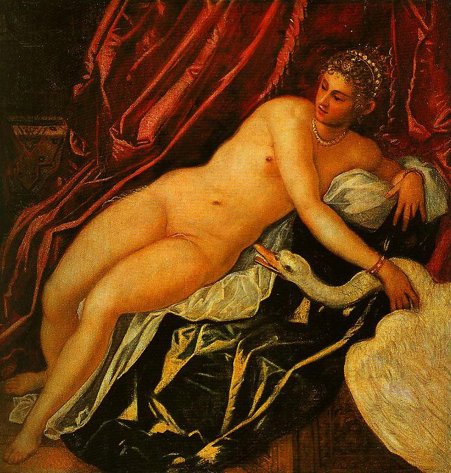 Leda and the Swan | Jacopo Tintoretto | Oil Painting