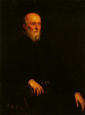 Portrait of Alvisa Cornaro   Jacopo Tintoretto   Oil Painting