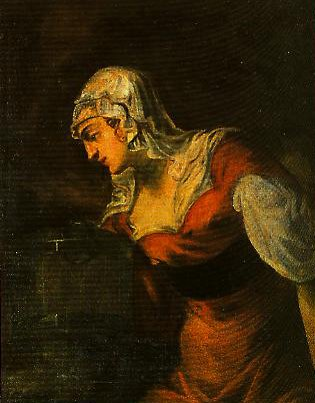 The Samaritan Woman at the Well | Jacopo Tintoretto | Oil Painting
