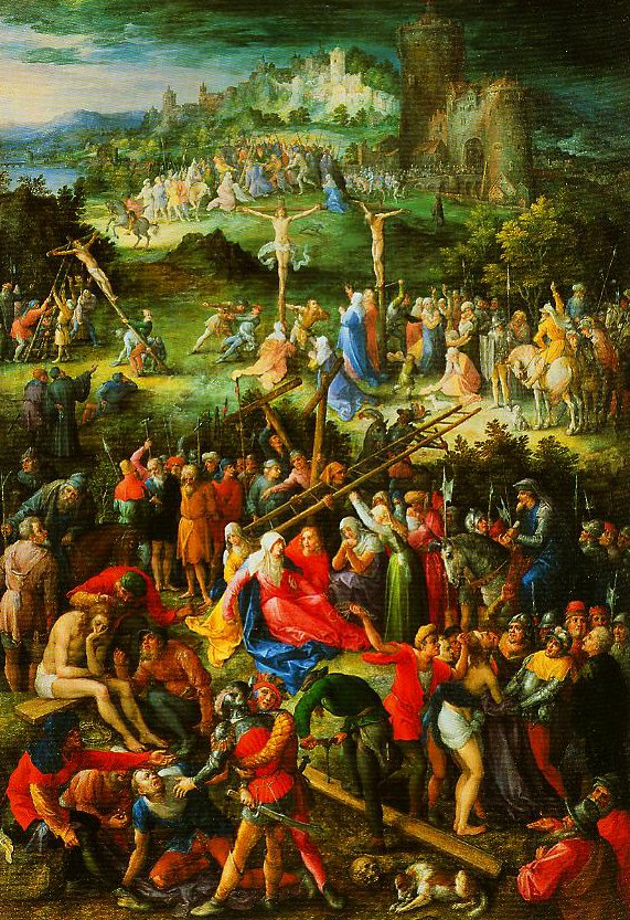 The Great Calvary | Jan Velvet Brueghel | Oil Painting