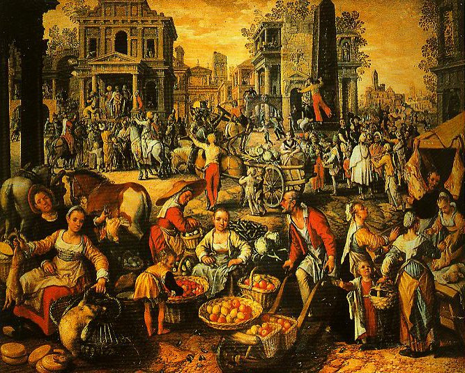 Pilate Shows Jesus to the People | Joachim Beuckelaer | Oil Painting