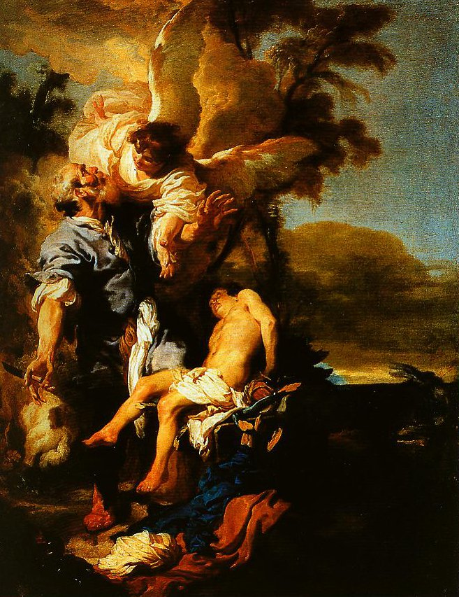 The Sacrifice of Isaac | Johann Liss | Oil Painting