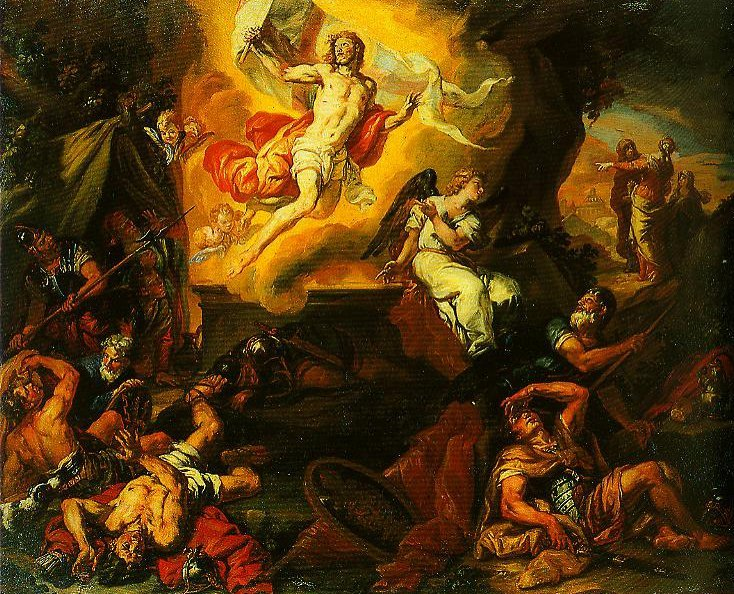 The Resurection of Christ | Johanncarl Loth | Oil Painting