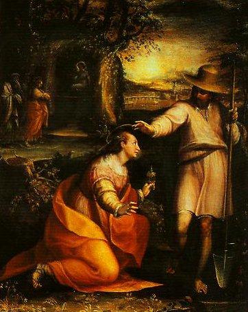 Noli Me Tangere | Lavinia Fontana | Oil Painting