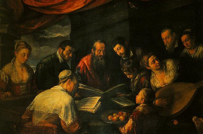 The Concert   Leandro Bassano   Oil Painting