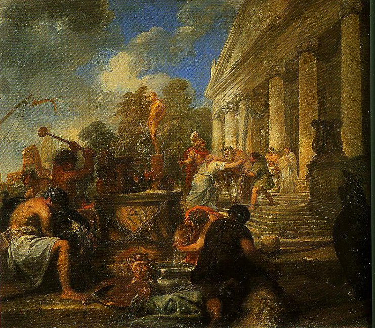 Episode in the Life of Scipio Africanus | Livio Mehus | Oil Painting