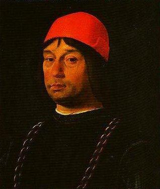 Portrait of Giovanni II Bentivoglio | Lorenzo Costa | Oil Painting