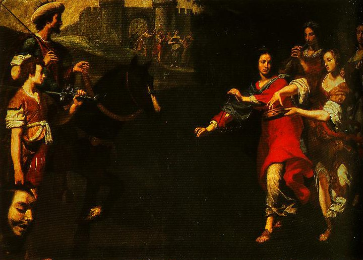 The Triumph of David | Lorenzo Lippi | Oil Painting