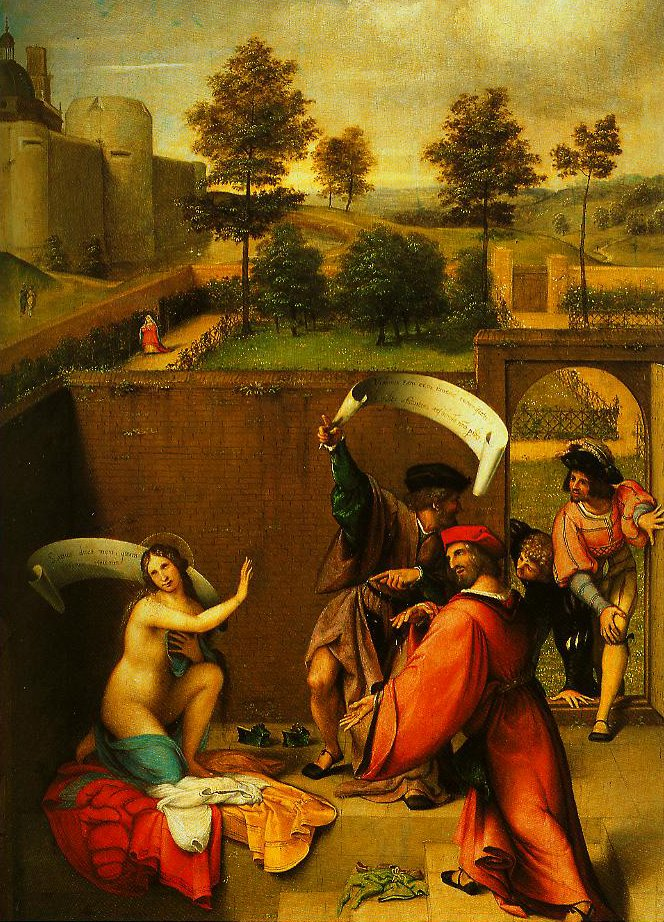 Susanna and the Elders | Lorenzo Lotto | Oil Painting