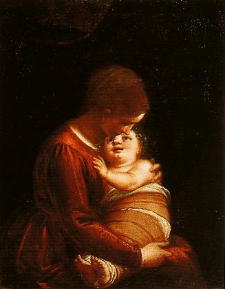 Madonna and Child | Luca Cambiaso | Oil Painting