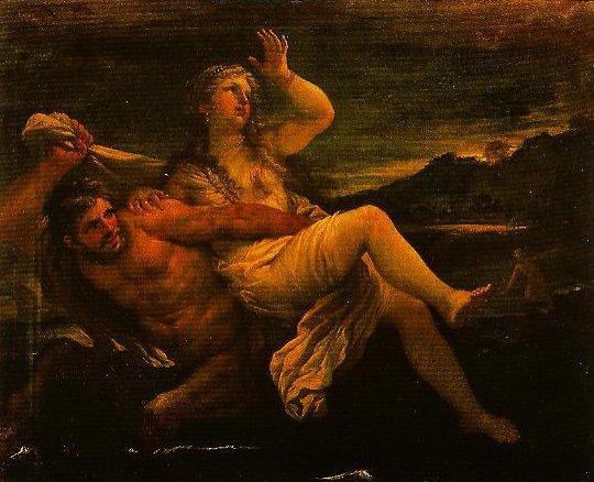 Rape of Deianira | Luca Giordano | Oil Painting