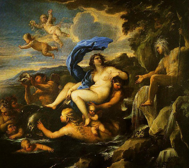 The Triumph of Galatea with Acis Transformed into a Spring | Luca Giordano | Oil Painting